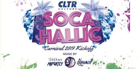 Socahallic @CLTR | Carnival 2019 Kickoff tickets