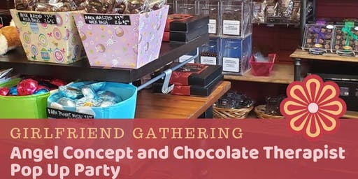 Angel Concept and Chocolate Therapist Pop Up Party