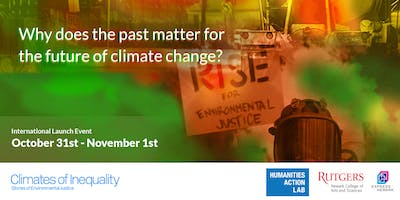 Climates of Inequality, International Launch Convening