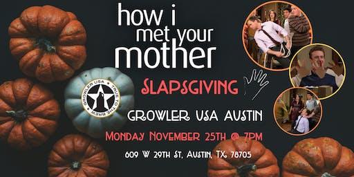 How I Met Your Mother Slapsgiving Trivia at Growler USA Austin
