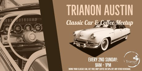 Classic Cars & Coffee Monthly Meetup - Dec tickets