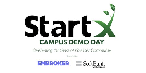 StartX Campus Demo Day 2019