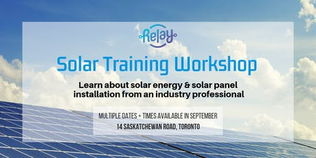 Solar PV Installation - Crash Course tickets