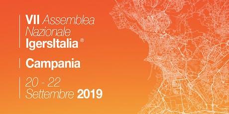 TOUR VII Assemblea Igersitalia Campania biglietti