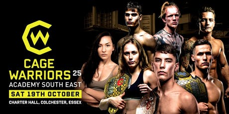Cage Warriors Academy South East #24 tickets