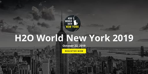 H2O World New York 2019