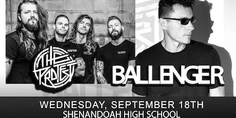 RISE UP TOUR w/ Ballenger, The Protest, and Break the Grey tickets