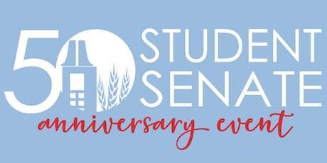 Student Senate 50th Anniversary Reception tickets