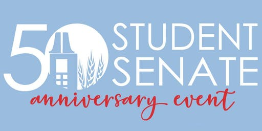 Student Senate 50th Anniversary Reception
