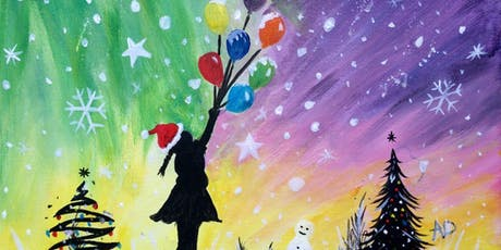 Paint and Sip Party Shipley Art Gallery 2.30pm Xmas Party tickets