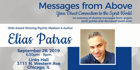 Messages from Above Chicago with Elias Patras tickets