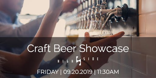Craft Beer Showcase at High Side
