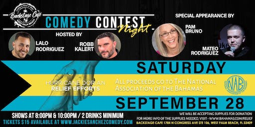 Comedy Contest Night - 2 Shows