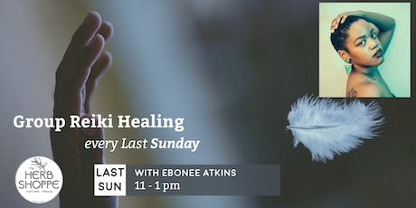 Group Reiki with Ebonee Atkins tickets