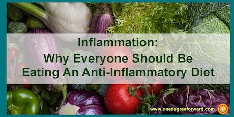Part 2 – Inflammation:  Why Everyone Should Be Eating an Anti-Inflammatory tickets