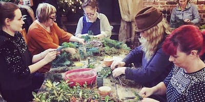 Winter Wreath Making Workshop - The Crown Hastings