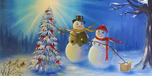 3 for 2 Paint and Sip Party Millstone Hotel Gosforth Xmas Party