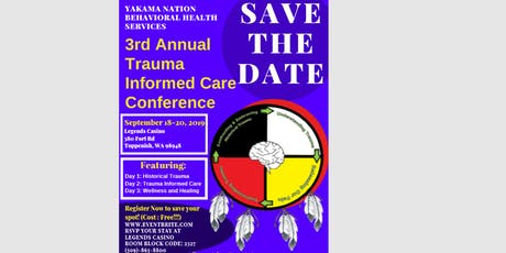 3rd Annual Trauma Informed Care Conference tickets