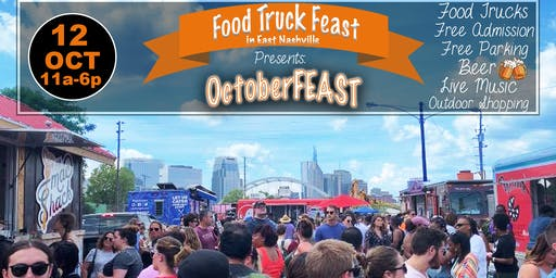 Food Truck Feast in East Nashville:  OctoberFEAST!