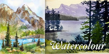 Watercolour Fundamentals - Alberta Landscape - Lori Lukasewich Workshop tickets