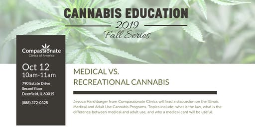 Medical vs. Recreational Cannabis (Be in the KNOW!)