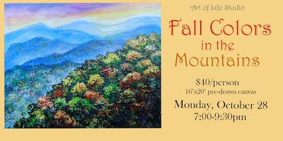 Paint Night: Fall Colors in the Mountains