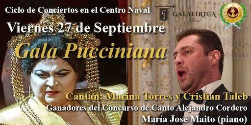Gala Pucciniana en el Centro Naval