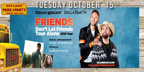 Outlaws Park & Party Dallas Smith & Dean Brody ft Chad Brownlee & Mackenzie Porter  tickets