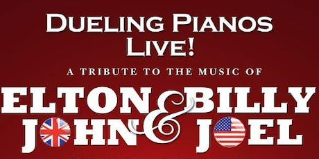 Dueling Pianos Live: A Tribute to the Music of Elton John & Billy Joel tickets