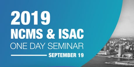 2019 NCMS & ISAC Joint Security Seminar tickets