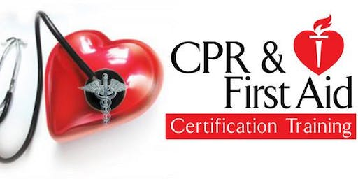 First Aid and Heart Saver CPR with AED