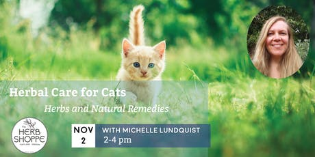 Herbal Care for Cats with Michelle Lundquist tickets