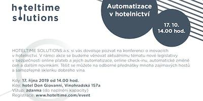 AUTOMATIZACE V HOTELNICTVÍ / AUTOMATION IN HOSPITALITY