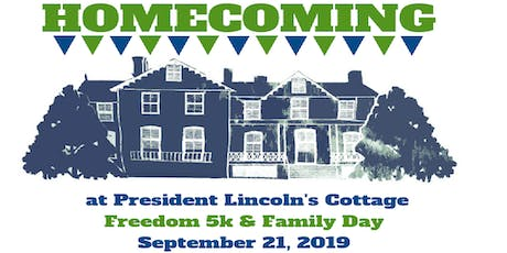 Homecoming at President Lincoln's Cottage 2019 tickets