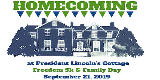 Homecoming at President Lincoln's Cottage 2019
