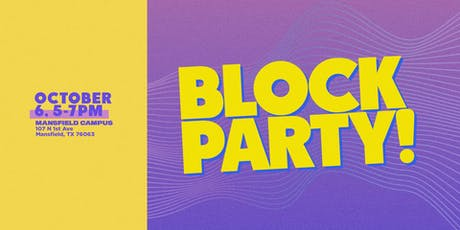 Block Party! tickets