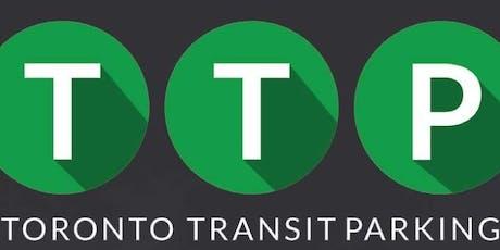 Toronto Transit Parking Workshop & Presentation September 24, 2019 tickets