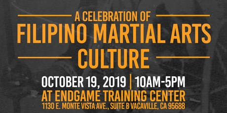Endgame Training Center and Guerilla Arts Presents: A Celebration of Filipino Martial Arts tickets