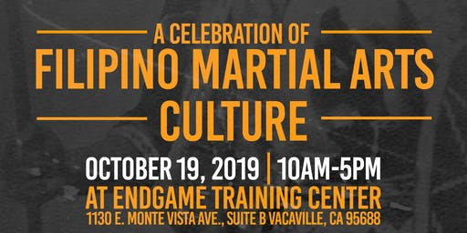 Endgame Training Center and Guerilla Arts Presents: A Celebration of Filipino Martial Arts