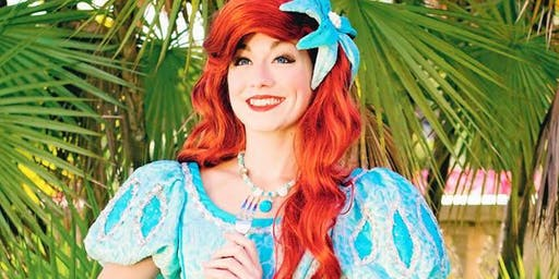 Beautiful Mermaid Waves with the Little Mermaid