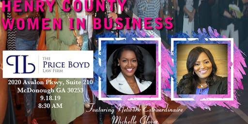 Henry County Women in Business Breakfast Mixer