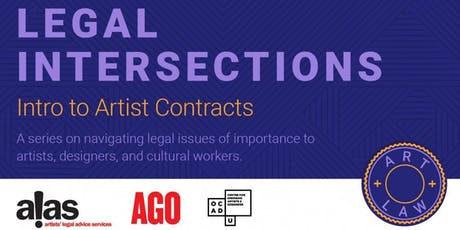 Legal Intersections: Intro to Artist Contracts tickets