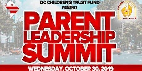 Parent Leadership Summit 2019 tickets