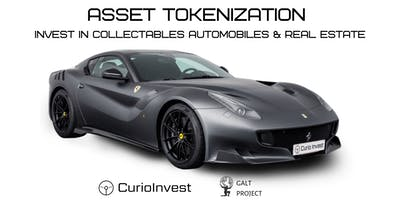 Asset Tokenization. Invest in Collectables Automobiles & Real Estate