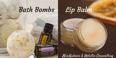 Make your own Bath Bombs & Lip Balm