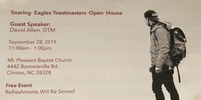 Soaring  Eagle Toastmaster's Open House