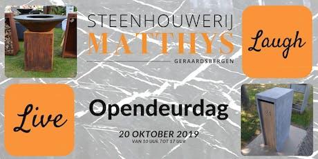 herfst opendeurdag tickets