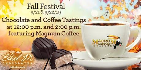 Fall Fest Pairings: Ethel M Chocolates + Magnum Coffee tickets