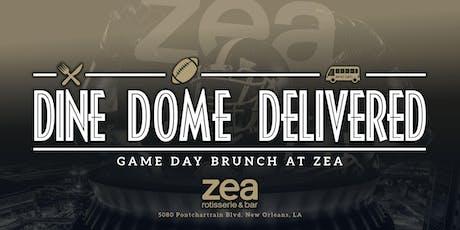 Dine, Dome, Delivered! Saints Game Day Brunch tickets