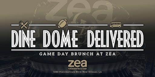 Dine, Dome, Delivered! Saints Game Day Brunch